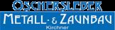 Logo Metallbau und Zaunbau Oschersleben